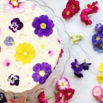 Edible flowers for Mother's Day