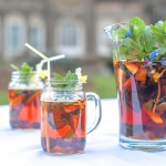 Buy organic mint. Organic mint tips. Mint tips for Pimms.