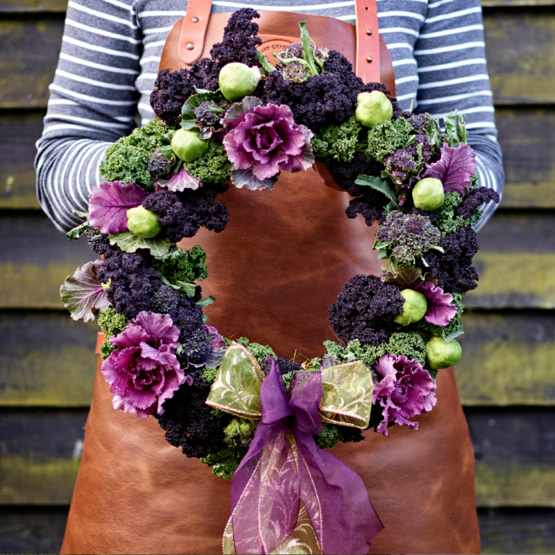 Wreath Masterclass from Delicious Magazine.